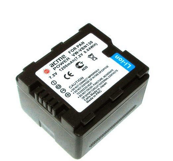 AcmePower VW-VBN130 1200mAh