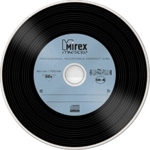 Mirex CD-R 700Mb 52x Slim-коробка *MAESTRO*