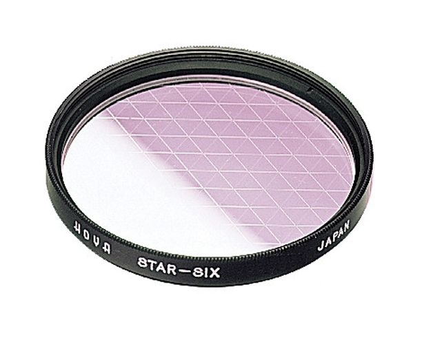 Светофильтр 55mm HOYA - STAR-SIX (шестилучевой)