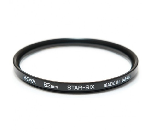 Светофильтр 62mm HOYA - STAR-SIX шестилучевой