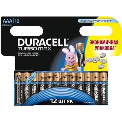LR03 батарейка TURBO MAX Duracell